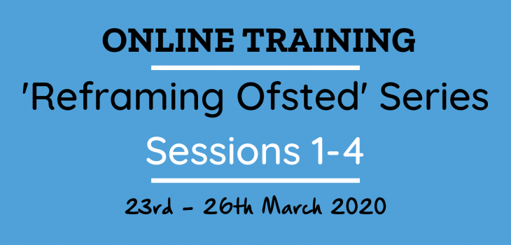 Ofsted Training